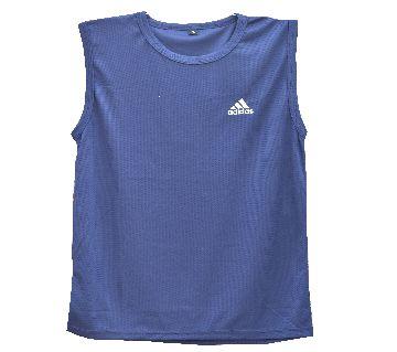 Comfortable Sleeveless (megi) T-Shirt (Blue)