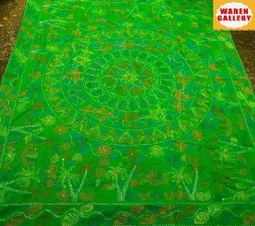 Nakshi Kantha - 7 green