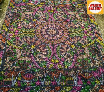 Nakshi kantha -8 green