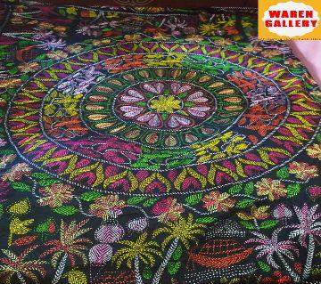 Nakshi Kantha-11  multicolor