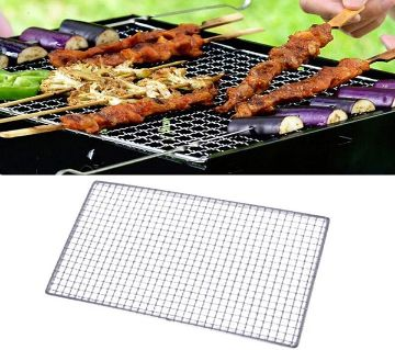 Stainless Steel BBQ Net - Silver
