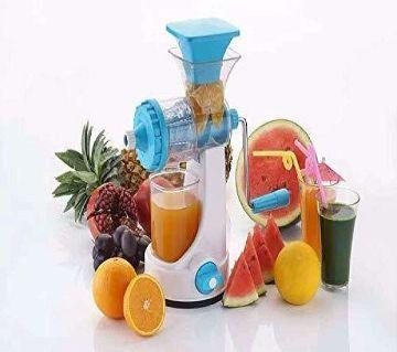 New Improve Fruits Vegetables Plastic Manual Juicer