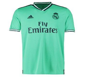 Real Madrid Half Sleeve Third Jersey 19-20
