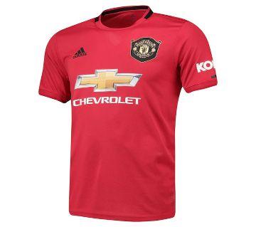 Manchester United Home Jersey | Man U Short Sleeve Home Jersey 19-20 (Thai)