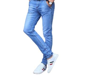 Jeans Pant For Men-sky blue