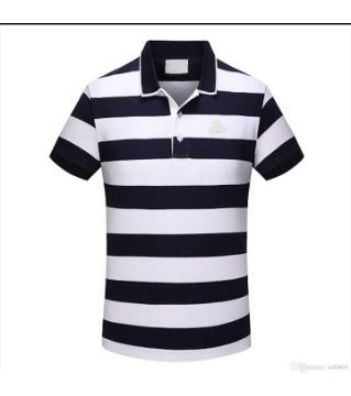 striped pk polo shirt  for mens