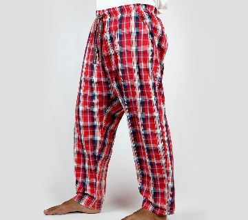 Extra Relax Cotton Multi Color Check Trouser For Men