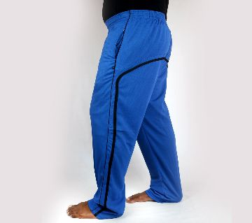 Mens Saturated Blue Super Soft Relaxing Trouser