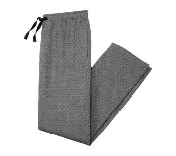 Enrico Mori Imported Ball Print Trouser/Jogger - For Men (Gray)
