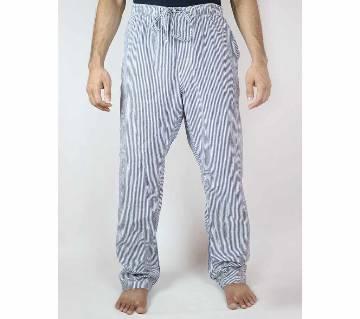 Cotton Check Pajama For Men Multi Color Stripes