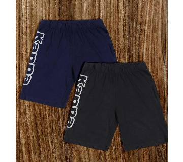 Combo 2 Kappa Shorts For Men - Navy & Grey