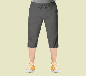 3 Quarter   Gabardine Type Summer Trouser For Men - Elastic Hip G