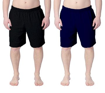 Combo 2pc - Cotton Shorts / Half pants for Men B.NB