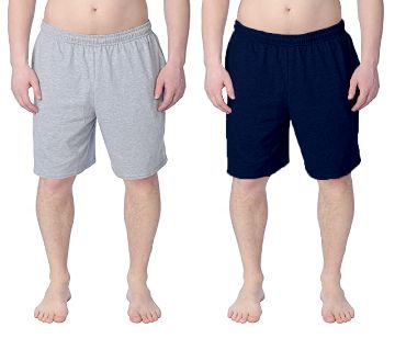 Combo 2pc - Cotton Shorts / Half pants for Men A.NB