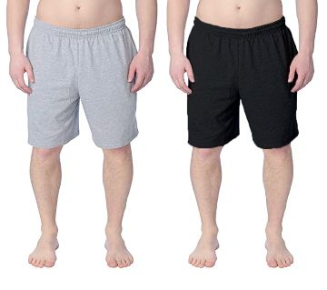 Combo 2pc - Cotton Shorts / Half pants for Men A.G