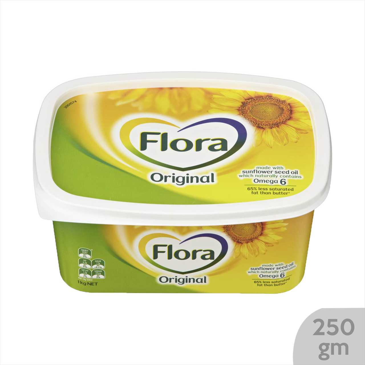 Flora Margarine Original 250 gm