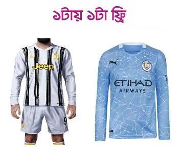 Juventus ফুল স্লিভ জার্সি (Copy) (Manchester City ফুল স্লিভ জার্সি (Copy) ফ্রি)