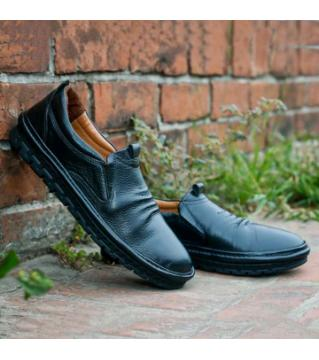 Royal Cobbler Causal Shoes PU Leather Black