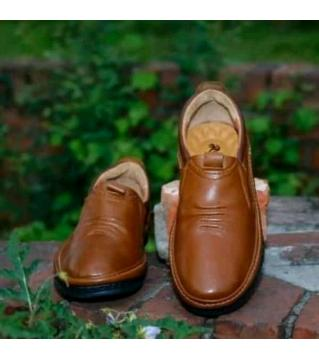 Royal Cobbler Casual Shoes PU Leather Brown