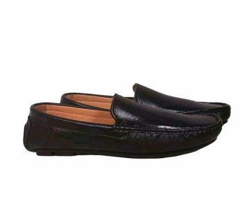 Leather Lofers for mens-black