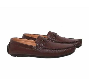 Leather Lofers for mens-brown