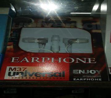 M37 Universal earphone