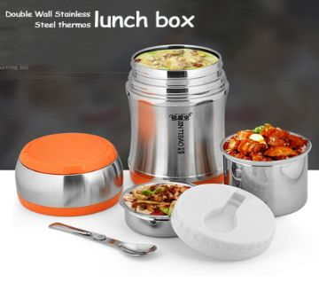 Jintibao insulation lunch box stainless steel vacuum Executive lunch box portable high-capacity insulation bucket
