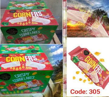Toren Corners white_Cornfleaks Compound Chocolate -(1BOX)-Turkey 24pcs/Box