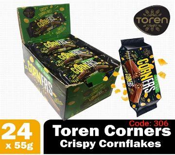 Toren Corners white Cornfleaks Compound Chocolate-(1BOX)-Turkey 1Box