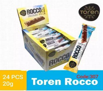 Rocco Sea Milky Compound Chocolate-(1BOX)-Turkey 24 pcs/Box