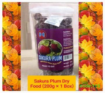 Sakura Plum Dry Food-(1BOX)-Thailand 200gm/per box