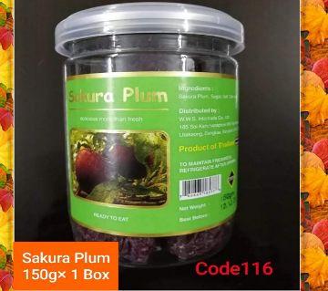 Sakura Plum Dry Food--(1BOX)-Thailand  150gm/per box