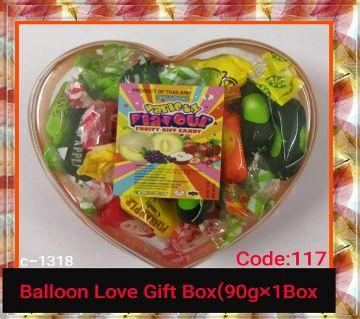 Balloon LOVE Gift Box- Every One Like This Box -Thailand 90gm/per box