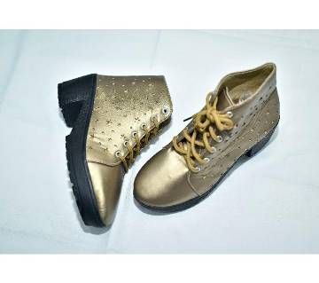 casual shoes for women-golden