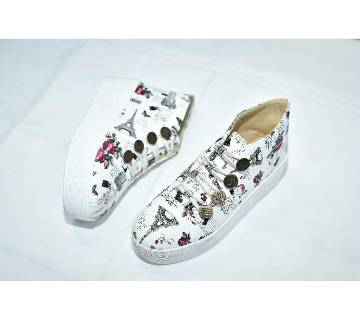 PU leather made Ladies converse 3