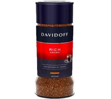 Davidoff Caf Rich Aroma Coffee Jar, 100  UAE