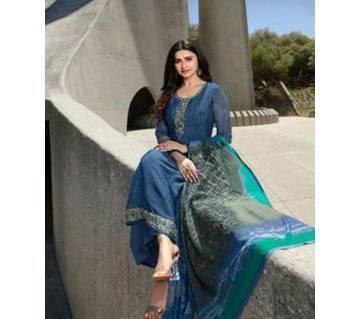 Indian Original  Unstiched VINAY-FASHION-SILKINA-Salwar, Kameez and Dupatta, Dress Code no.12305