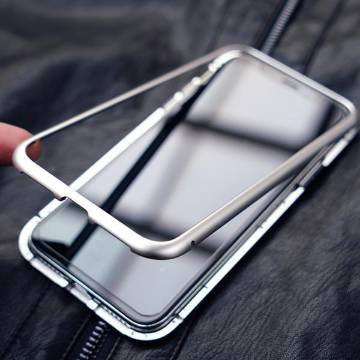 360 Metal Case For Samsung Note 9-Silver