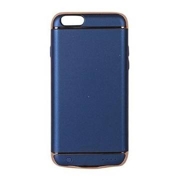 4500mAh Shell Rechargeable External Power Case for iPhone 8 - Blue
