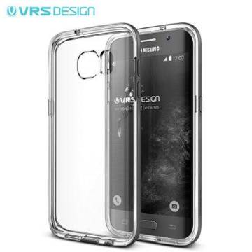 360 Metal Case For Samsung S7 EDGE-Silver