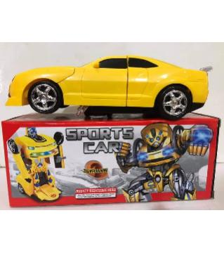 Sports car Transforming
