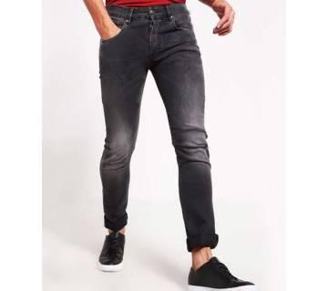 black menz fit jeans