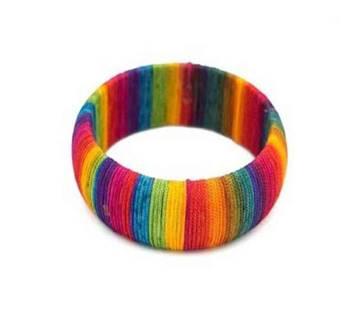 Rainbow bangle