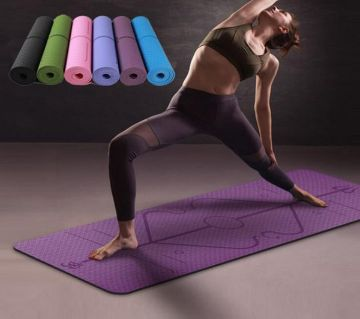 Fitness Exercise Yoga Mat 8MM Multi-Color