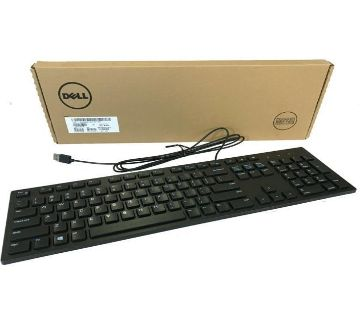Dell Original Brand  Wired Keyboard KB216-Black
