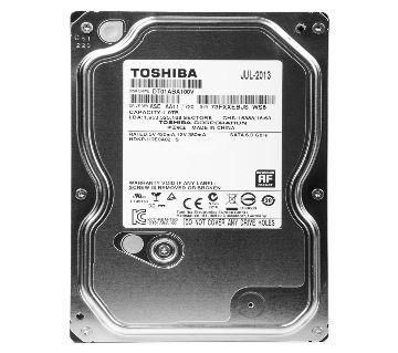 Toshiba 1TB Sata Desktop Hard Disk Warranty: 2 Year