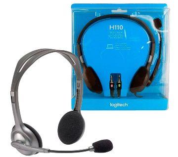 Headphone Logitech H110 STEREO Headset (Two port)
