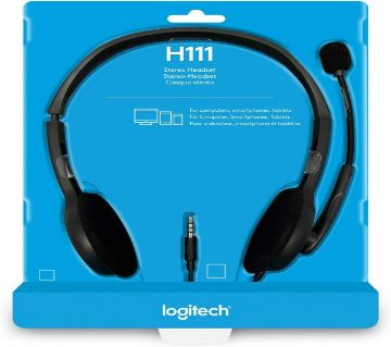 Headphone Logitech H111 STEREO Headset (One port)