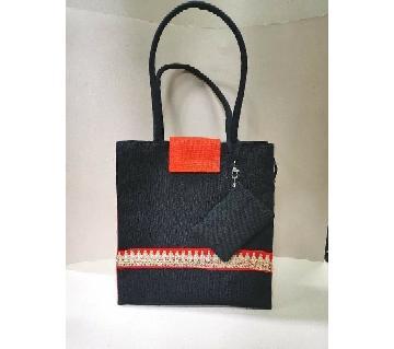 jute Bag-Black