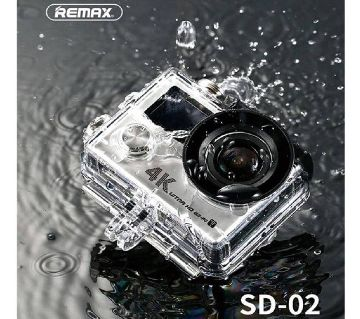 REMAX DV 4K ACTION camera - SILVER 4K Camera